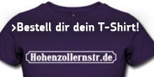 Hohenzollernstr. Dein T-Shirt